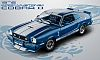 1976 Ford Mustang II Cobra II • Blue with White stripes • #GL12894