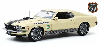 1970 Ford Mustang Mach I • SCCA Road Rally Champion • #HW61-18019 • www.corvette-plus.ch