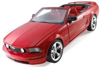 2005 Mustang GT convertible, red by Hot Wheels item G7161