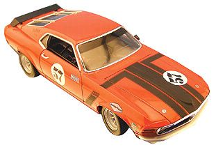 1970 Trans-Am Ford Mustang #57 - Danny Moore - #WE12527R
