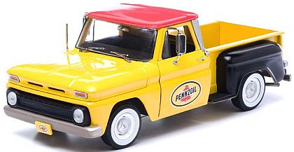 1965 PENNZOIL Chevy C-10 Stepside Pickup Truck • Yellow • #GL12873