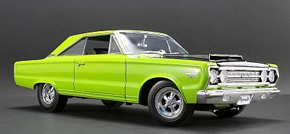 1967 Plymouth Belveder GTX Coupe • Limelight Green • #A1806703