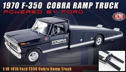 1970 Ford F-350 COBRA Ramp Truck • Powered By Ford • #A1801405 • www.corvette-plus.ch