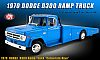 1970 Dodge D-300 Ramp Truck • Corporate B5 Blue • #A1801905 • www.corvette-plus.ch