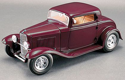 1932 Ford 3-Window Deuce Coupe • Burgundy • Limited Edition of 545 • #G1805020