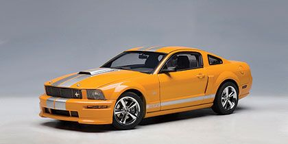 2007 Shelby Mustang GT • Grabber Orange Metallic with silver stripes • #AA73117