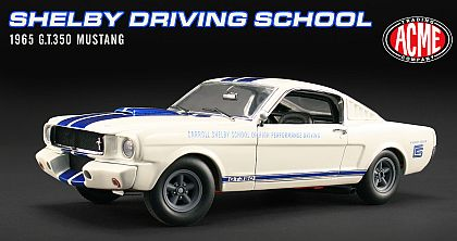 1965 Shelby G.T.350 Mustang • Carroll Shelby School Of High Performance Driving • #A1801803