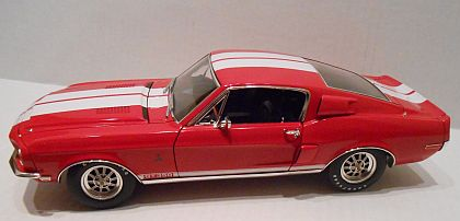 1968 Shelby Mustang G.T.350 • Special 'WT7081' with White stripes • #A1801808S