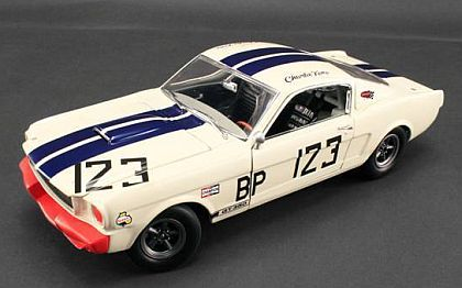 1965 Shelby G.T.350R #123 • White with Blue stripes • #A1801812S