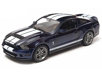 2010 Shelby Mustang GT500 • Kona Blue with White stripes • #GL12824