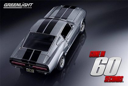 1967 ELEANOR Shelby Mustang G.T.500 • Gray with Black stripes • #GL12909