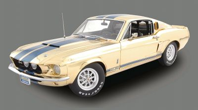 1967 Shelby Mustang G.T.350 GOLD plated Item nr.704, Limited 350 pieces worldwide