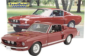 Item ED-705 1967 Shelby G.T.500 red