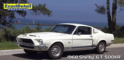 Item ED-707 1968 Shelby G.T.500KR white
