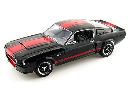 1967 Shelby Mustang G.T.500 Super Snake • Black with Red stripes • #SC140
