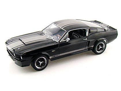 1967 Shelby Mustang G.T.500 Super Snake • Black with Silver stripes • #SC142