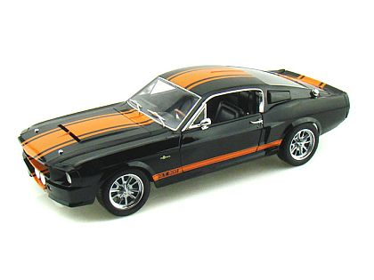 1967 Shelby Mustang G.T.500 Super Snake • Black with Orange stripes • #SC187B