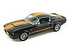 1967 Shelby Mustang G.T.500 Supersnake • Black with Orange stripes • #SC187B