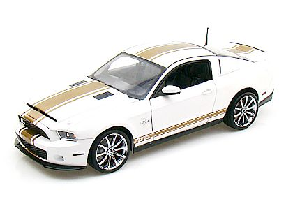 2012 Ford Shelby GT500 Super Snake • Performance White with Gold stripes • #SC322B