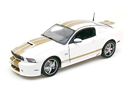 2012 Ford Shelby GT350 • Performance White with Gold stripes • #SC323B