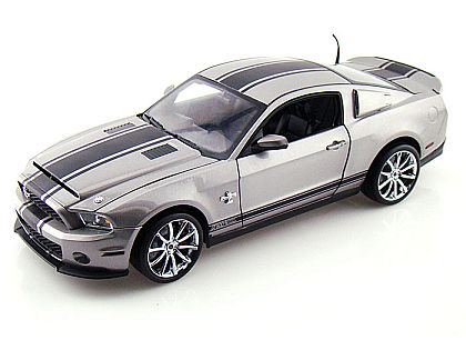 2012 Shelby GT500 Supersnake • Silver with Black stripes • #SC370