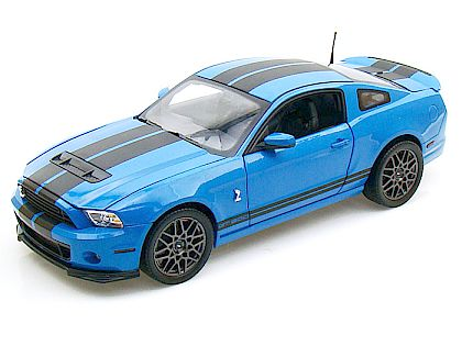 2013 Ford Shelby GT500 • Grabber Blue with Black stripes • #SC390