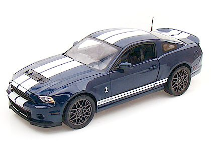 2013 Ford Shelby GT500 • Deep Impact Blue with White stripes • #SC390A