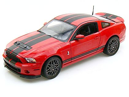 2013 Ford Shelby GT500 • Race Red with Black stripes • #SC391