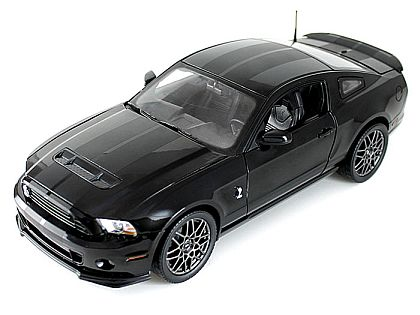 2013 Ford Shelby GT500 • Black with Black stripes • #SC392