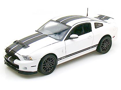 2013 Ford Shelby GT500 • Performance White with Black stripes • #SC393
