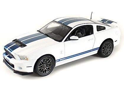 2013 Ford Shelby GT500 • Performance White with Blue stripes • #SC394