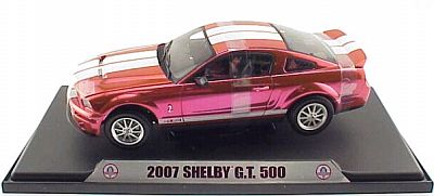 2007 Shelby GT500 Mustang, red anodized, item #DC500LC02
