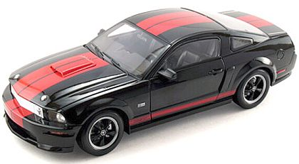 2008 Shelby GT - Black with Red stripes - Barrett-Jackson Edition - Item #DC08GT04