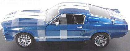 1967 ELEANOR Shelby Mustang G.T.500E • Blue with White stripes • #DC500E06