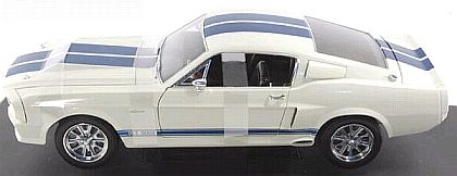 ELEANOR Shelby Mustang G.T.500E - White with Blue stripes - Chase - Item #DC500E08