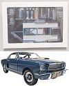 Blue Shelby HERTZ Trailer & Accessories set including Shelby G.T.350-H(ertz) car • Limited 100 pieces • #150SHB