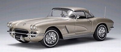 1962 Corvette Convertible, Fawn Beige, removable Hardtop, Item #AA71101