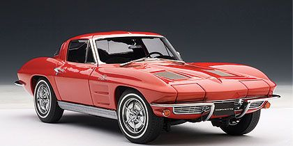 1963 Chevrolet Corvette Sting Ray Sport Coupe • Riverside Red exterior Black interior • #AA71183