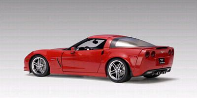 2006 Corvette red Z06 item AA71232
