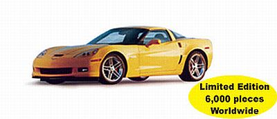 2006 Corvette yellow Z06 item AA71232