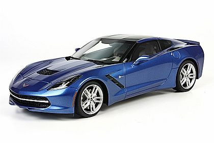 BBR C7 2014 Corvette Stingray Coupe • Laguna Blue • #BLM1812D