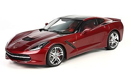 BBR C7 2014 Corvette Stingray Coupe • Crystal Red • #BLM1812E