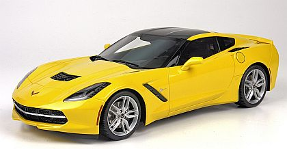 BBR C7 2014 Corvette Stingray Coupe • Velocity Yellow • #BBRP1864B