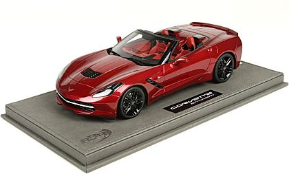 BBR C7 Corvette Stingray Convertible • Crystal Red • #BBRP1872A