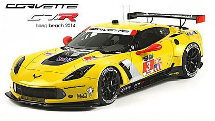 Corvette Z06 C7.R #3 • First Victory Long Beach First Win • #BBRP1896