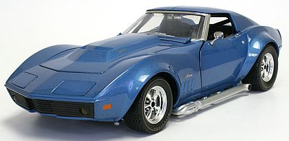 1969 Corvette Coupe - Le Mans Blue - CA4605