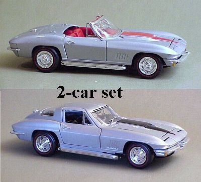 1967 Corvette L88 Sting Ray coupe & convertible item SET#3