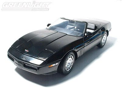 1986 Corvette convertible Black Limited edition of 500; Item #GL18803