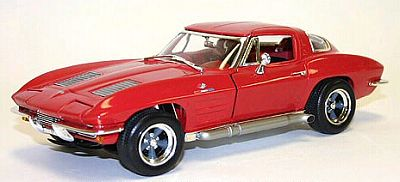Item JL51050 1963 Corvette Sting Ray in Road Racing trim for the street