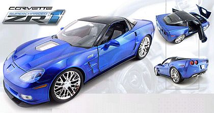 2009 Corvette ZR1 Supercharged - Jetstream Blue - JT92025BU